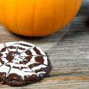 Spiderweb Cookies | Schoko Haferflocken Kekse für Halloween