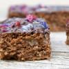 Lebkuchen Brownies mit Marzipan | glutenfrei