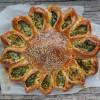 Sonnen Börek mit Spinat Süsskartoffel Füllung