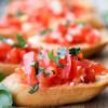 Bruschetta mit Tomaten - einfach, vegan und lecker!