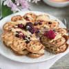 Waffeln mit Erdnussbutter, vegan und glutenfrei