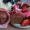 Schoko Nuss Muffins vegan