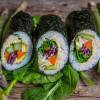 Sushi Burrito Rezept vegan