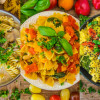 Vegane One-Pot Pasta - 3 gesunde Rezepte