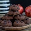 Triple Chocolate Protein Cookies vegan