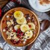 Cremiger Schoko Porridge vegan