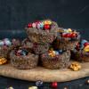 Gesunde Paleo Mohn Muffins vegan, glutenfrei und zuckerfrei