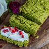Grünes Proteinbrot - Erbsenbrot mit 5 Zutaten Rezept