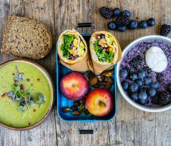 Ernährungsplan für 1 Tag - Gesundes Meal Prep
