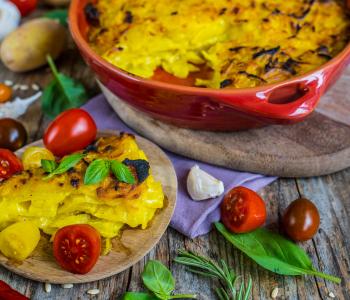 Kartoffelgratin vegan