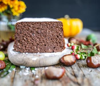 Marronikuchen glutenfrei, ohne Mehl, ohne Fett