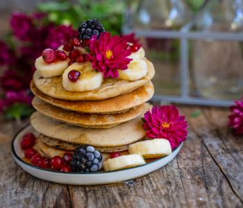 Protein Pancakes vegan - 4 Zutaten Rezept