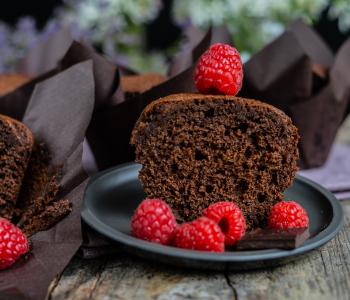 Schokoladen Muffins - super saftig und lecker