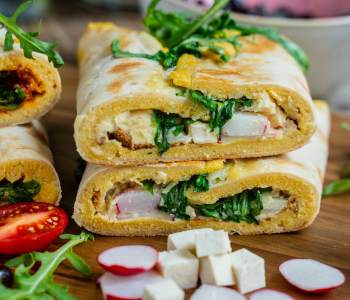 Protein Wraps vegan - 2 gesunde Varianten