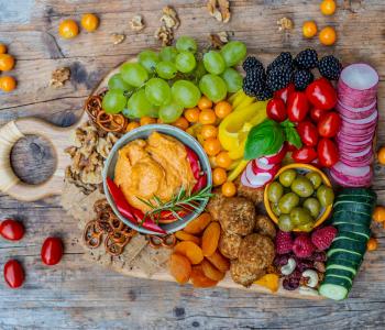 Snack Board und Tipps für mehr Lebensfreude