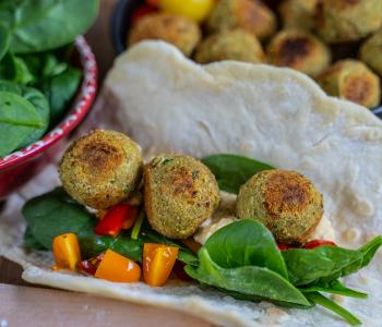 Falafel Rezept - gesund und knusprig ohne Frittieren
