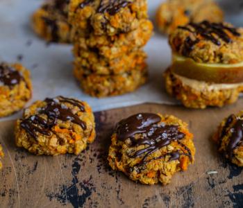 Frühstückscookies - gesunde Karotten Cookies