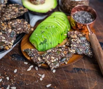 Low Carb Cracker - vegan und glutenfrei