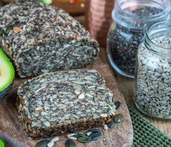 Low Carb Saatenbrot ohne Mehl