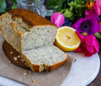 Veganer Zitronenkuchen ohne Zucker