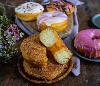 Vegane Donuts Rezept einfach & luftig