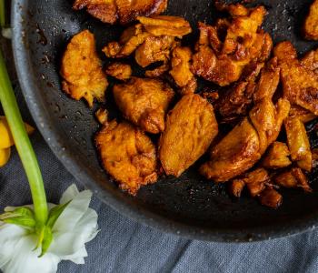 Seitan selber machen - veganer Fleischersatz
