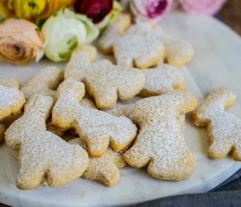 Osterhasen Kekse Rezept- gesund, vegan und einfach gemacht