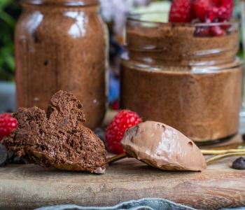 Mousse au Chocolat vegan mit 2 Zutaten
