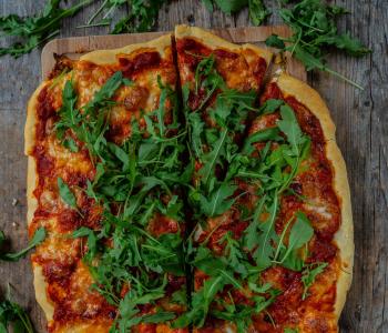 Ruckzuck Pizza in 10 Minuten - ohne Aufgehen