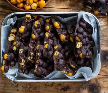 Protein Schokolade - 2 Zutaten, vegan