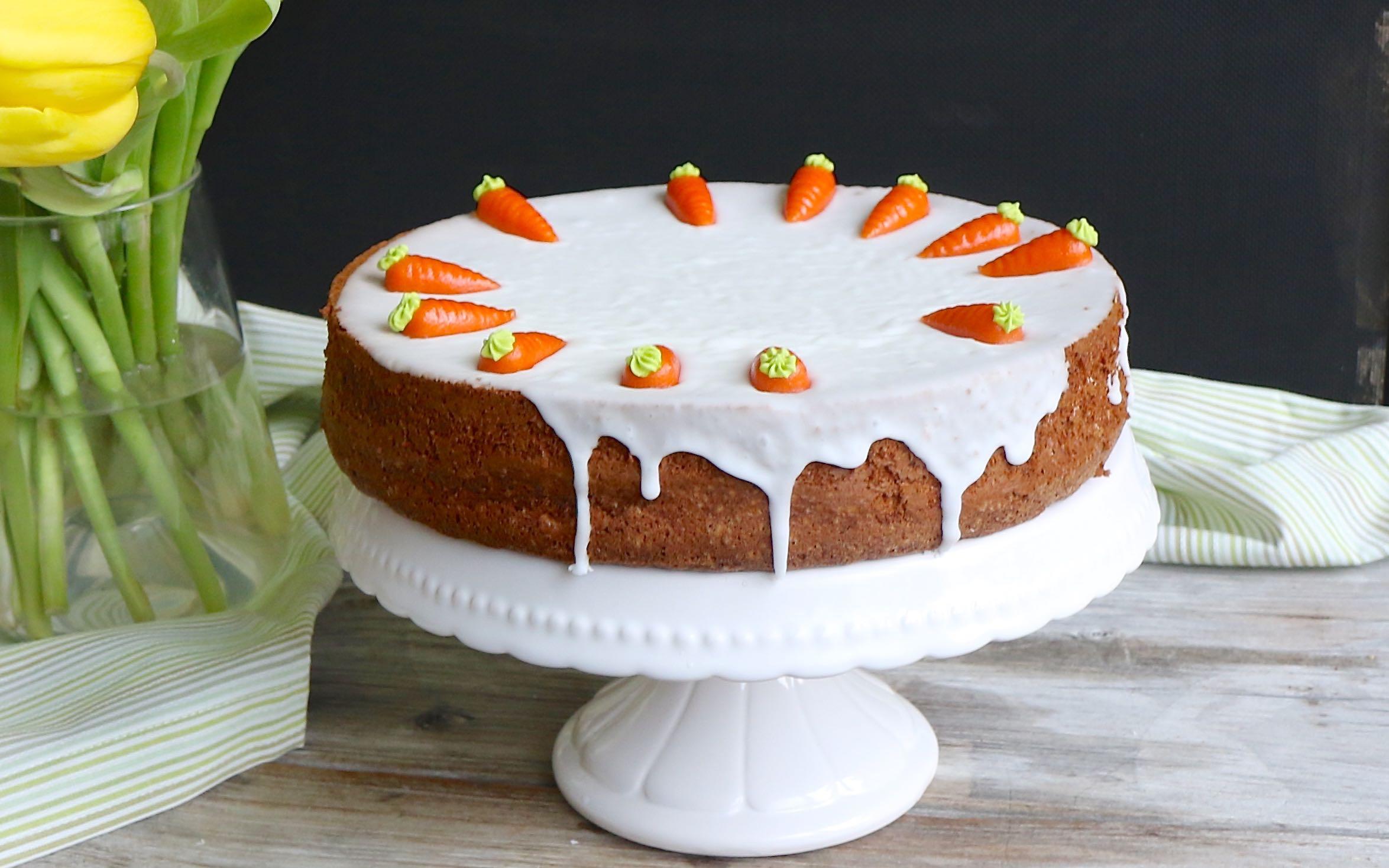 Rüeblitorte | Schweizer Karottenkuchen