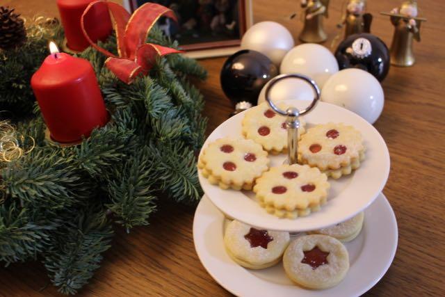 Spitzbuben Kekse