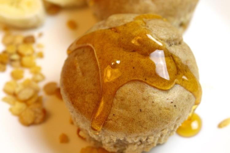 Bananen Muffins | Frühstücksmuffins ohne Zucker