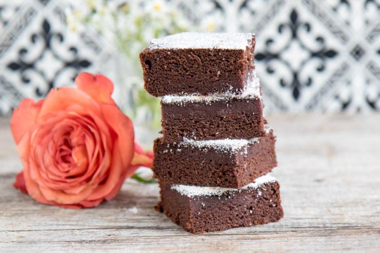 Brownies vegan mit Datteln