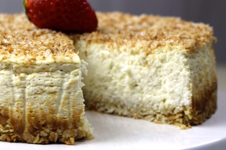 Kokos Cheesecake low carb