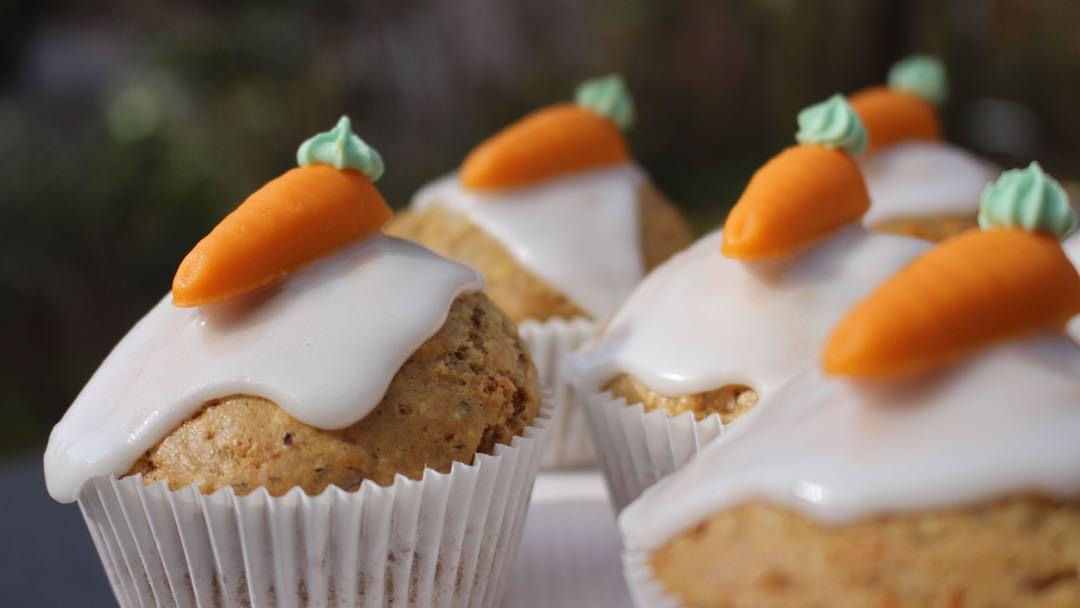 Vegane Karotten Muffins Super Saftig Und Lecker Mrs Flury