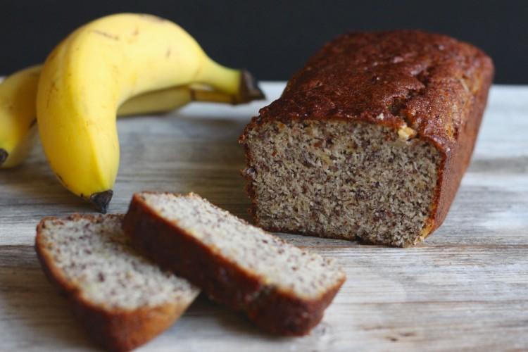 Bananenbrot gesund, ohne Zucker und glutenfrei