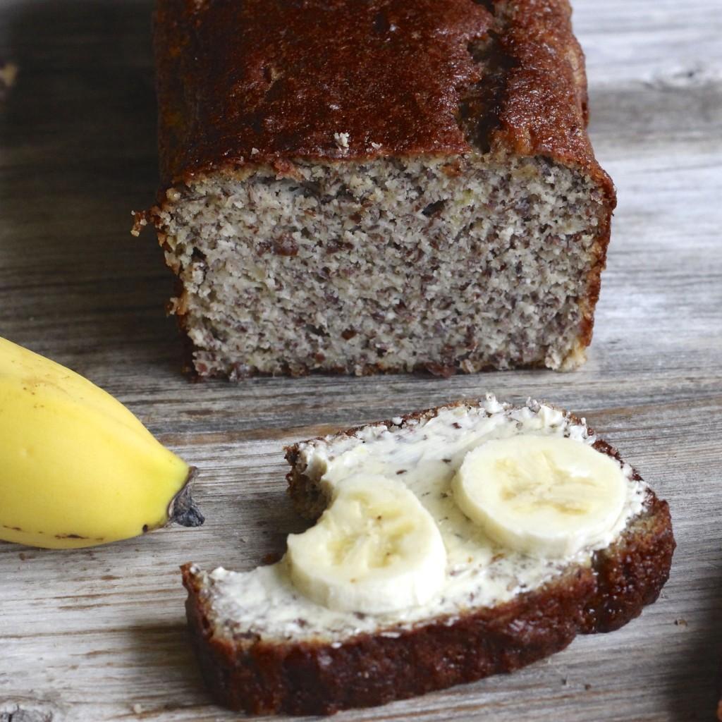 Gesundes Bananenbrot ohne Zucker, ohne Mehl Mrs Flury