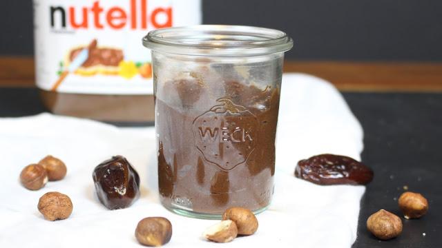 Gesunde Nutella Variante mit 3 Zutaten | ohne Zucker