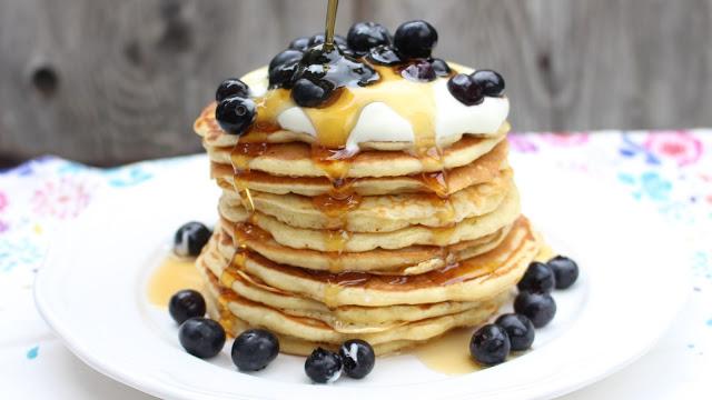 Buttermilch-Pancakes | fluffig und lecker