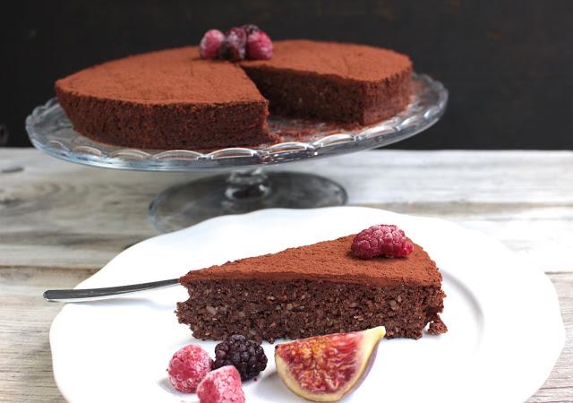 Bester Schokoladenkuchen ohne Zucker | Glutenfrei | Klitschkuchen