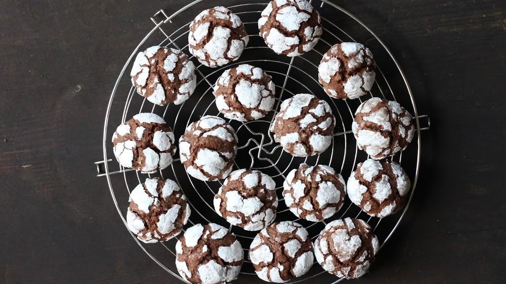 Snowcap Cookies Schokoladenkekse Mrs Flury