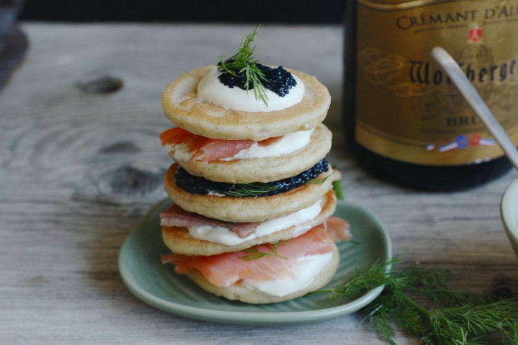 Blinis with buckwheat | an ideal appetizer