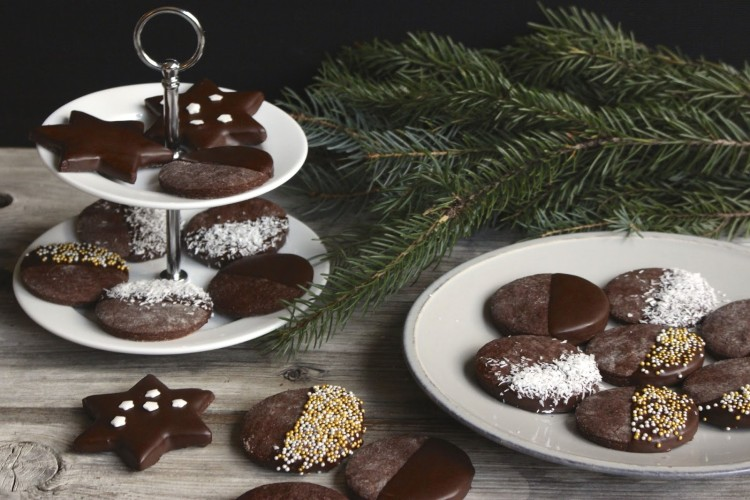 Schokoladenkekse – einfache Ausstechkekse
