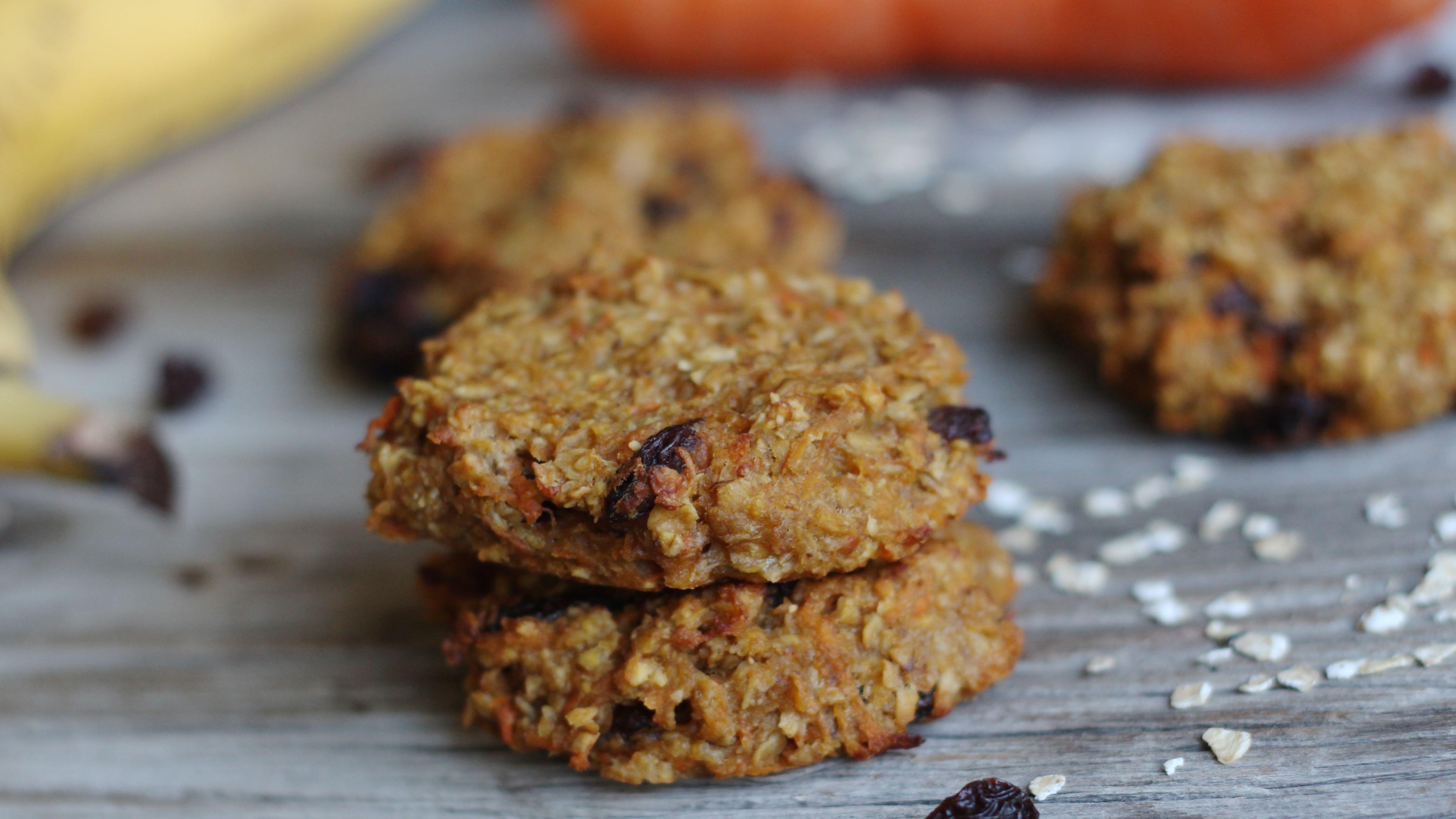 karotten apfel cookies ohne zucker ohne mehl gesund und lecker mrs flury gesund essen. Black Bedroom Furniture Sets. Home Design Ideas