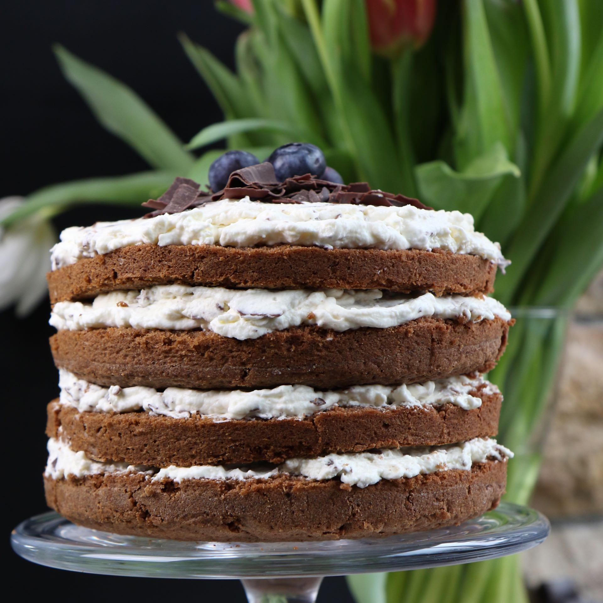 Schokoladenkuchen naked cake