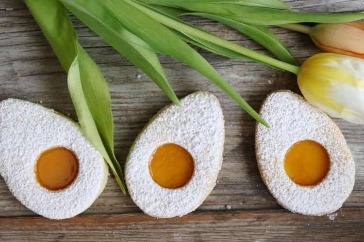 Spiegelei Kekse | Oster Cookies