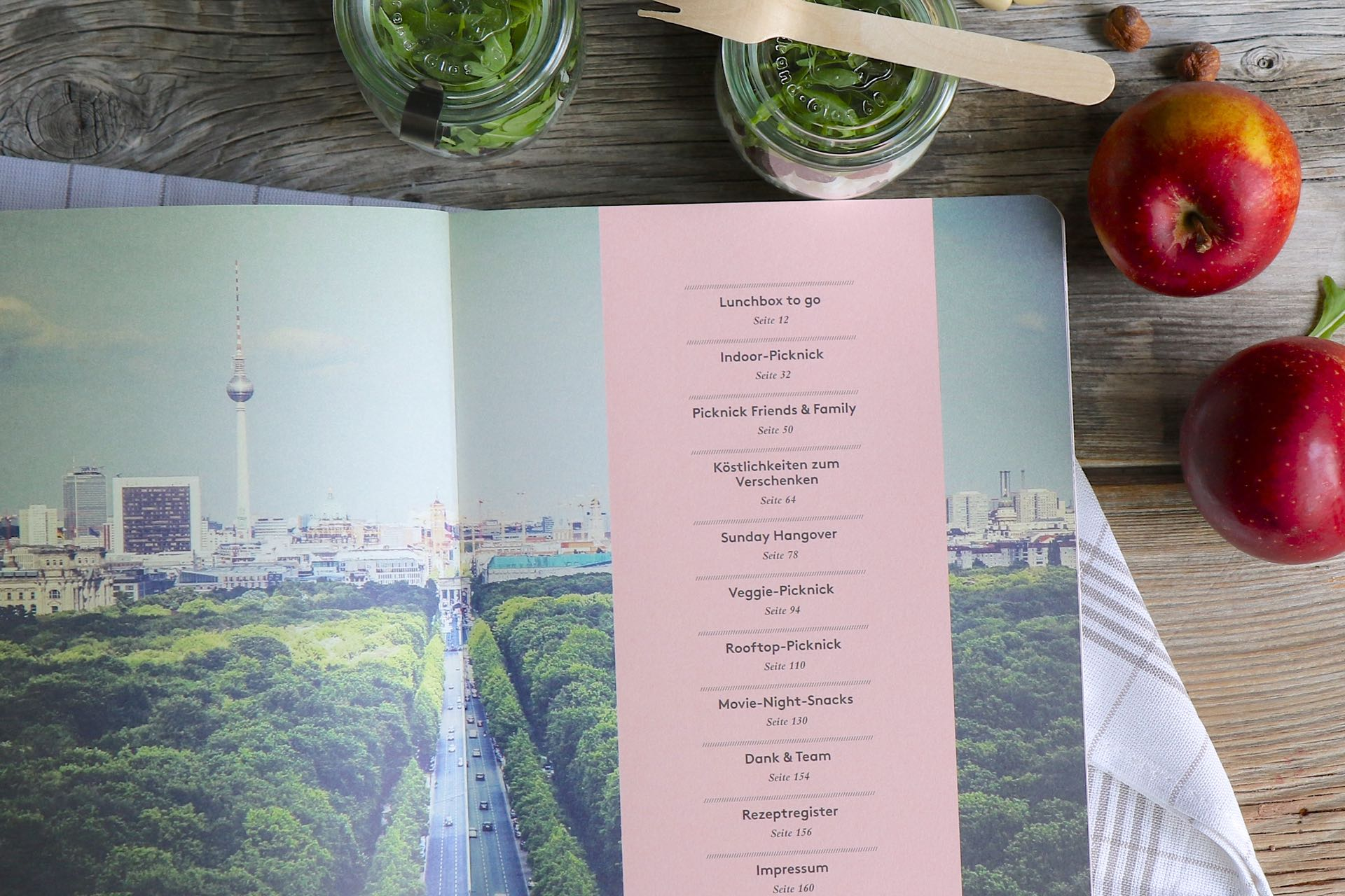Inhalt Buch City Picknick