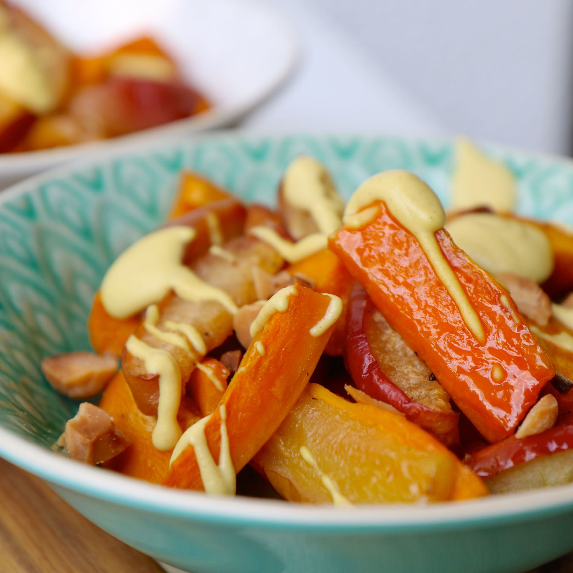 Rezept Süsskartoffel-Apfel-Salat