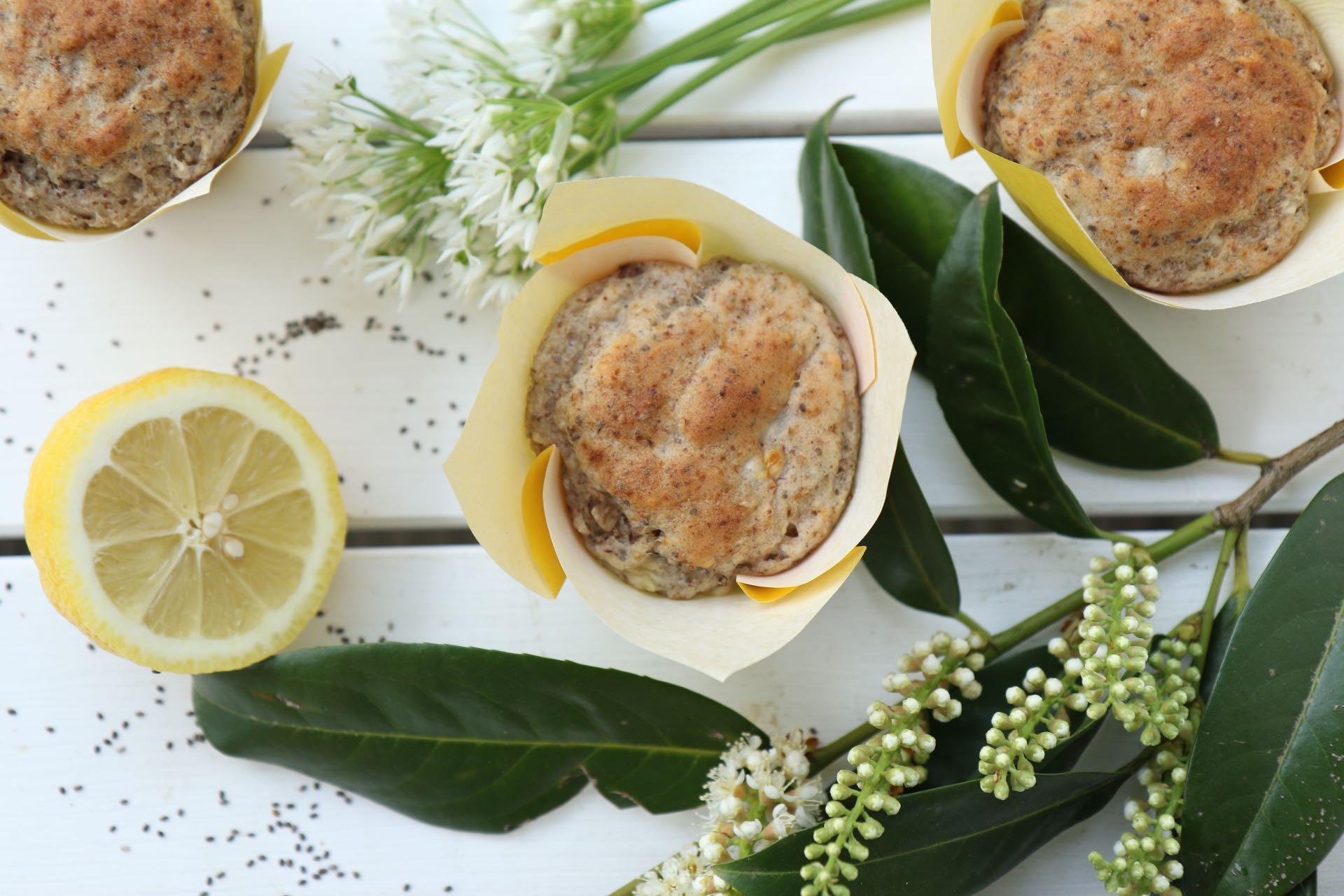 Vegan Zitronen Muffins Mrs Flury